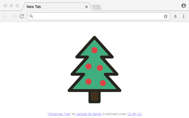 Christmas Tree Tab