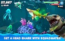 screenshot of Hungry Shark World
