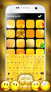 Yellow Emoji Keyboard - náhled