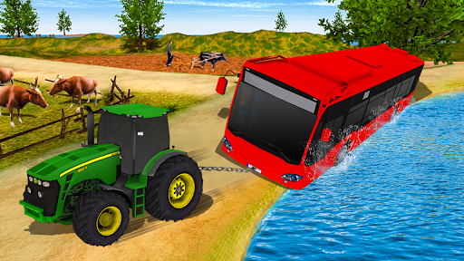 Tractor Pull & Farming Duty Game 2019 1.0 screenshots 11