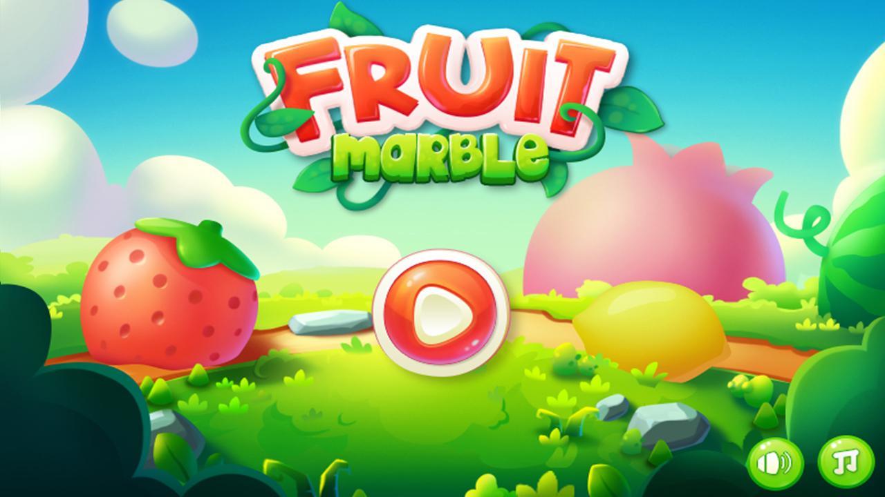 Fruit games free download - Fruit Marble Screenshot