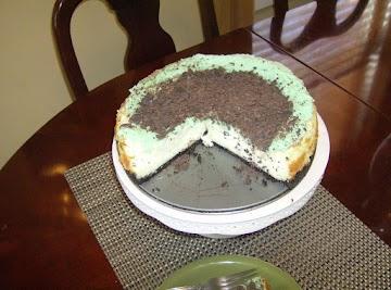 Chocolate Irish Cream Cheesecake Recipe