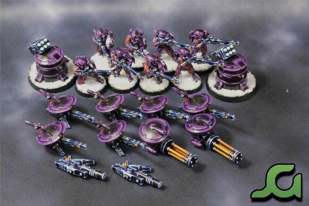 Fire Warriors, Turrets, Sniper Drones