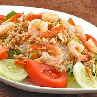 Thai Crystal Noodle Salad.