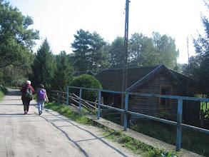 Photo: ...mostek nad rzeczką łączącą jeziora Wędromierz i Chłop,...