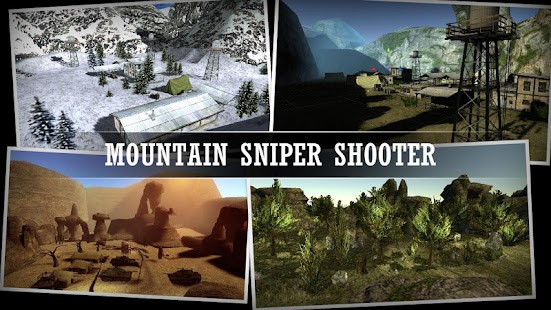 Mountain Sniper Shooting- screenshot thumbnail