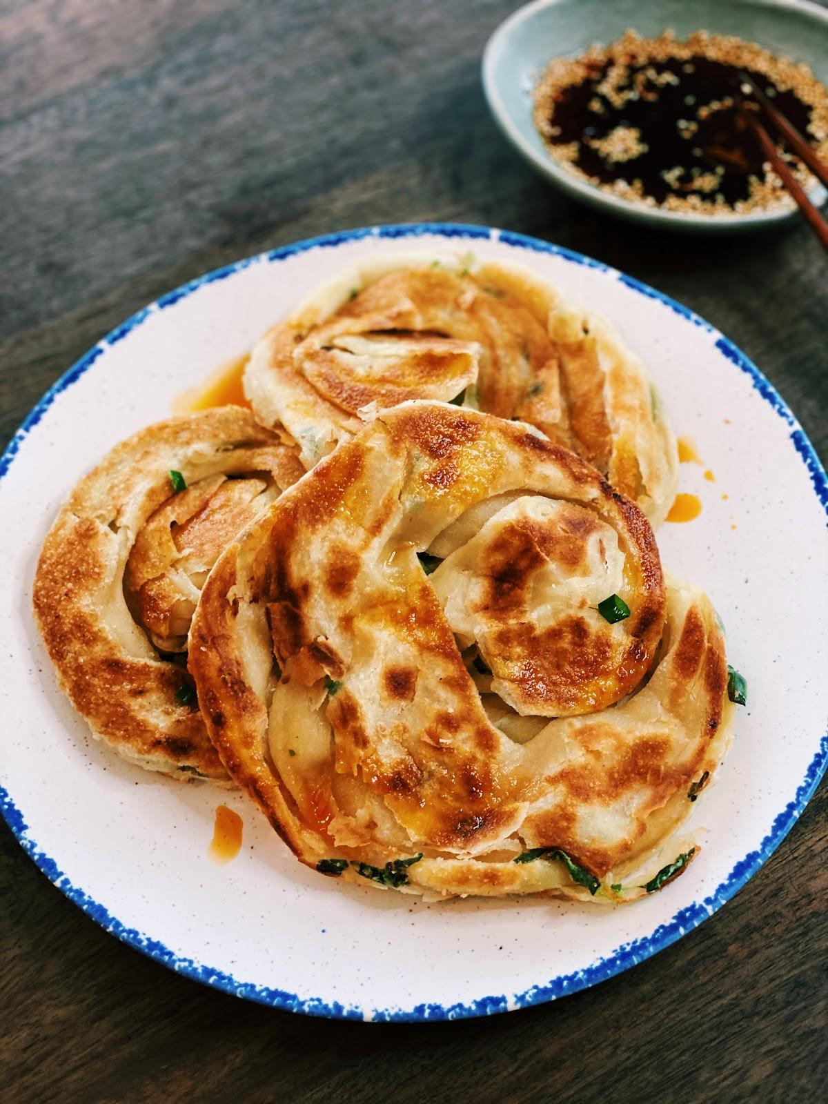 Taiwanese Green Onion Pancake