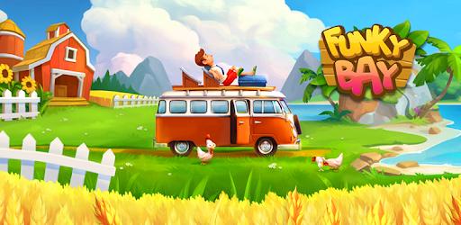 Resultado de imagem para Funky Bay – Farm & Adventure game