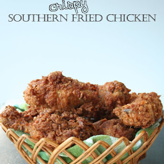 Crispy Southern Fried Chicken.