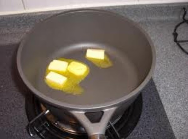 Meanwhile, melt the butter in a small saucepan over medium heat. Stir in the...