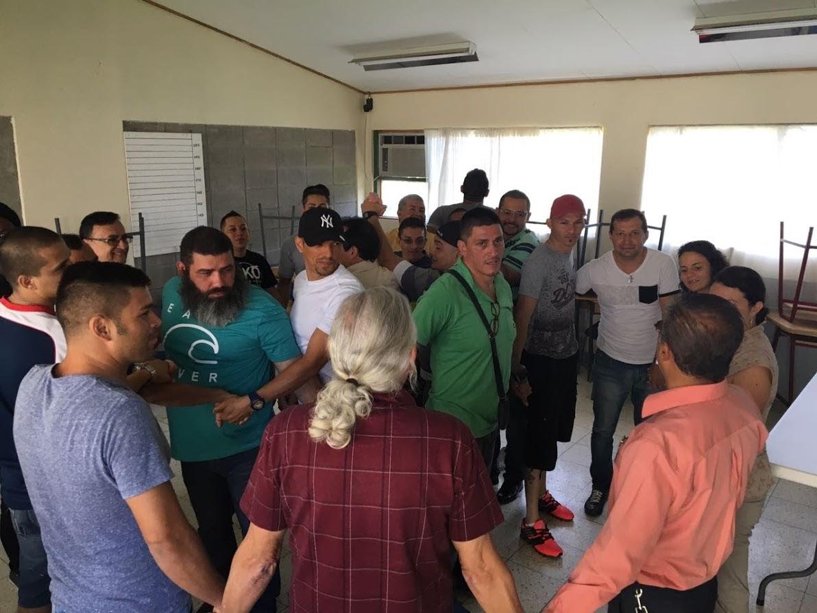 PRIVADOS DE LIBERTAD PARTICIPAN EN CONSTRUCCIÓN DE ESTRATEGIA PARA MEJORAR EL SISTEMA PENITENCIARIO