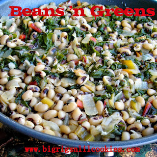 Beans 'n Greens (with Swiss Chard)