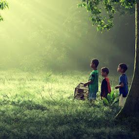 Tempat Bermain by Ipoenk Graphic - Babies & Children Children Candids ( children, landscape )