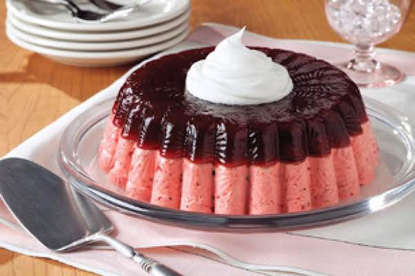 Layered Cranberry Mousse Mold Recipe