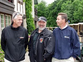 Photo: Adam Beales, Stan Milross & Chris Healey