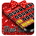Red Bow Keyboard Icon