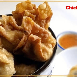 Fried or Baked Chicken Wontons.
