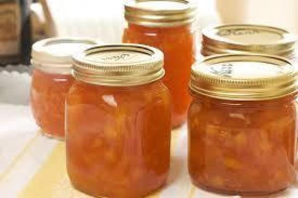 Refrigerator Fruit Jam Recipe