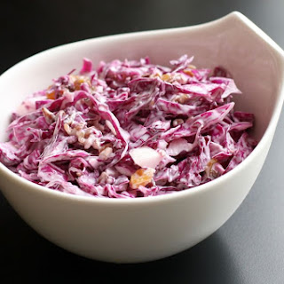 Tangy Red Cabbage Slaw.