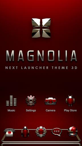 Next Launcher Theme Magnolia