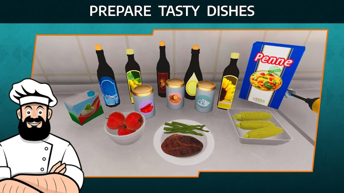 Cooking Simulator Mobile GiftCode 1.99 1