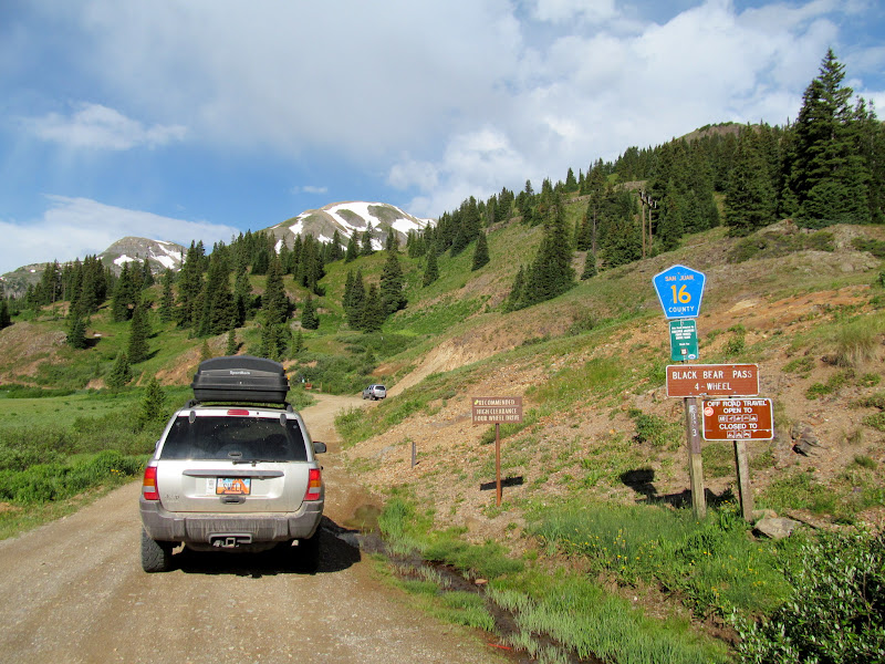 Photo: Beginning of the road to Black Bear Pass