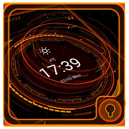 Future tech galaxy theme