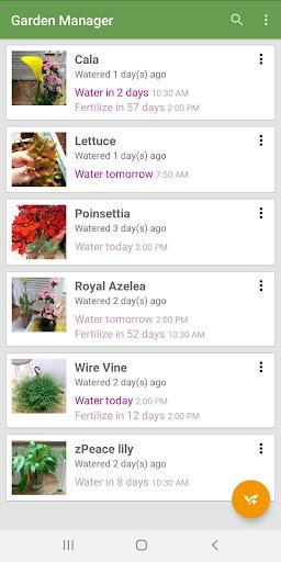 Garden Manager screenshot 1