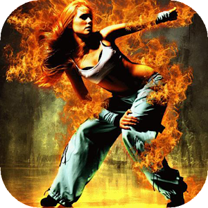 Dancing girl live wallpaper download