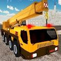 Heavy Crane City Construction icon