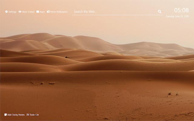 Desert Wallpaper HD New Tab Theme©