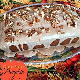Spice Pumpkin Loaf Cake Recipe