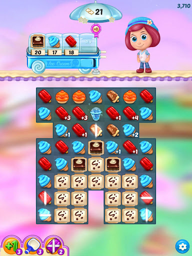 Ice Cream Paradise - Match 3 Puzzle Adventure screenshots 16