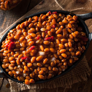 Smoky And Spicy Baked Beans