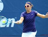 Kirsten Fliipkens verliest van Ostapenko op de Miami Open