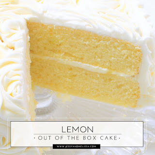 Lemon Out of the Box Cake.
