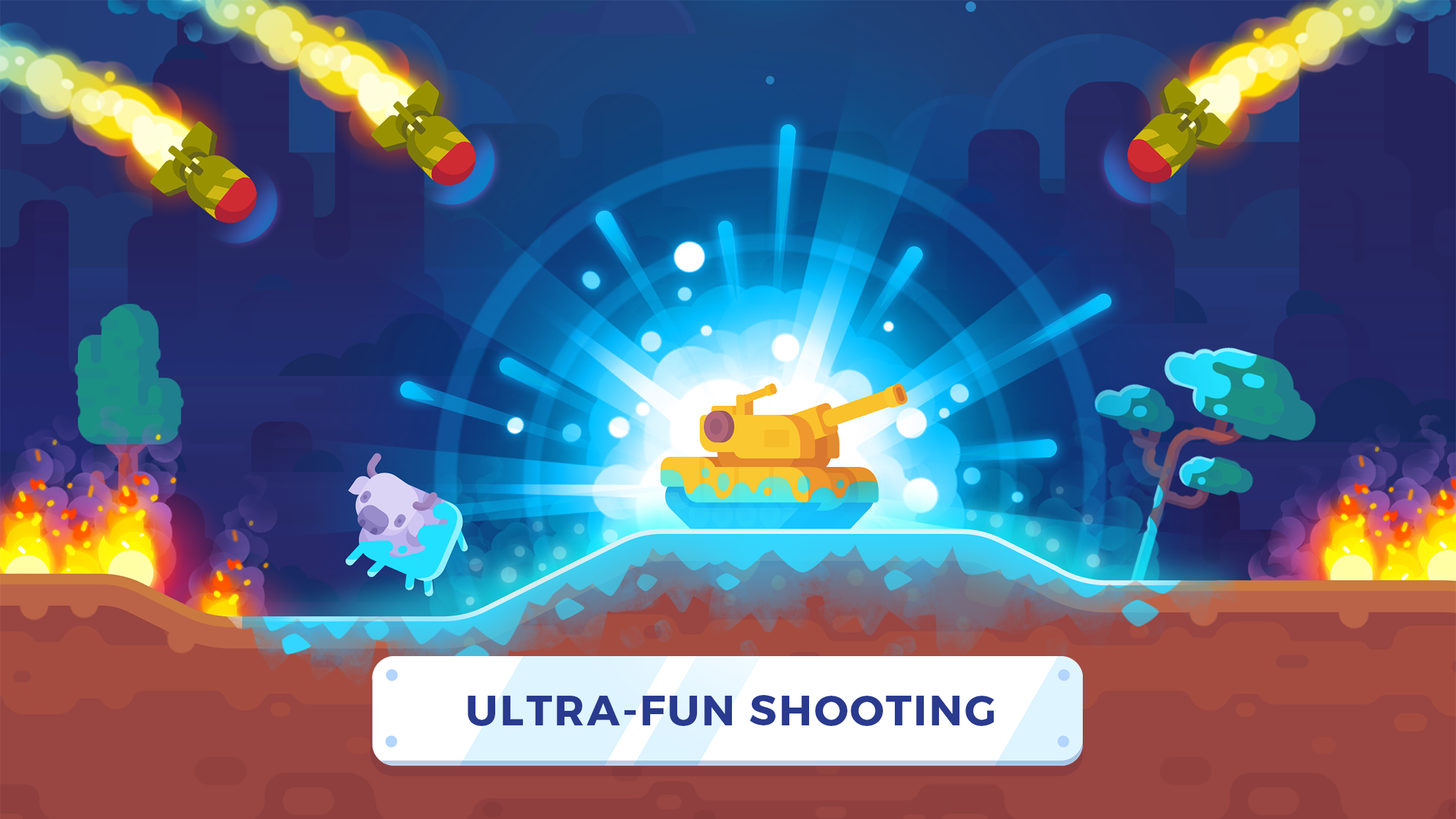 Tank Stars (MOD, Unlimited Money, Diamonds) 4