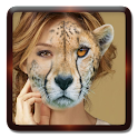 Animal cara selfie editor icon