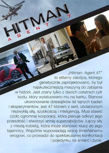 Tył ulotki filmu 'Hitman: Agent 47'
