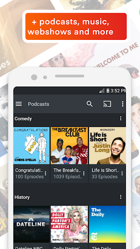 Plex: Stream Movies, Shows, Music, and other Media 8.2.1.18636 screenshots 3