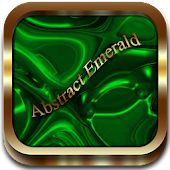 Abstract Emerald Go Launcher