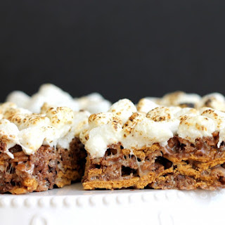 Chewy S'Mores Bars Recipe