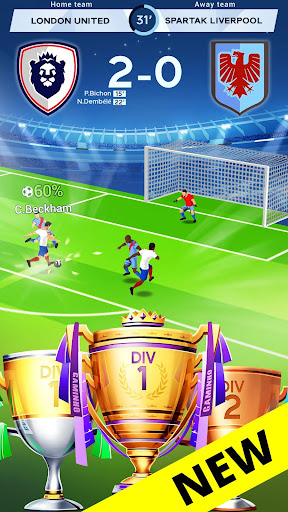 Idle Eleven - Be a millionaire soccer tycoon apkpoly screenshots 2