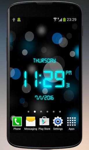 Digital Clock - LED Watch 2.0 screenshots 2