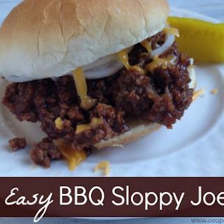 BBQ Sloppy Joes.