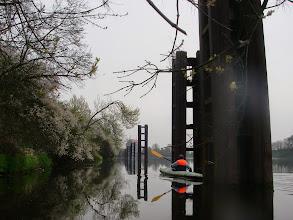 Photo: slalom przy tej lini