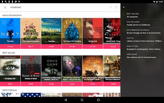 Bookari Ebook Reader Premium Android 16