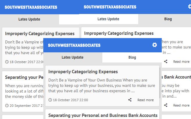 Tax preparation - Latest News Update