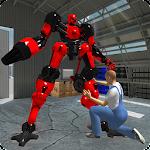 Real Robot Mechanic 3D Icon
