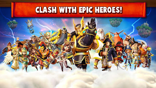 Hero Sky: Epic Clash - screenshot